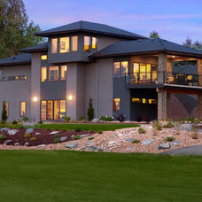 Contemporary Exterior by Vaught Frye Larson Architects