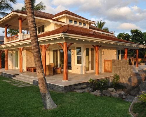 hawaii exterior design ideas pictures remodel decor. Black Bedroom Furniture Sets. Home Design Ideas