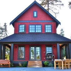 Farmhouse Exterior by Sears Architects
