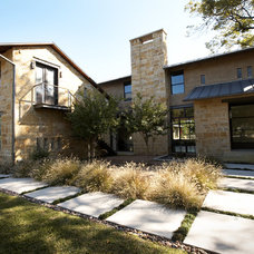 Contemporary Exterior by Carolina V. Gentry, RID