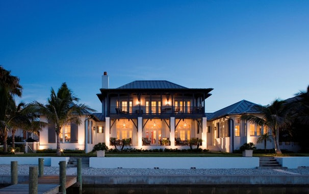 Tropical Exterior by Cooper Johnson Smith Architects and Town Planners