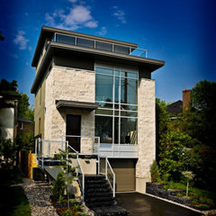 modern exterior by ArtHouse Developments
