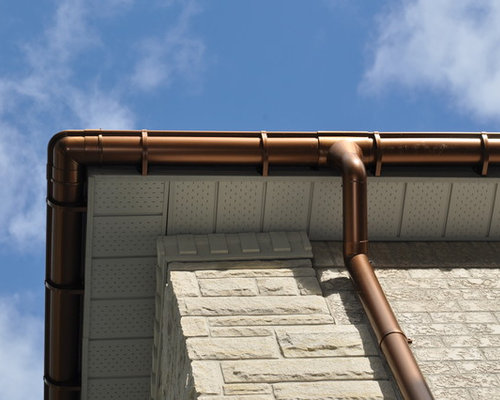 Faux Copper Gutters Houzz