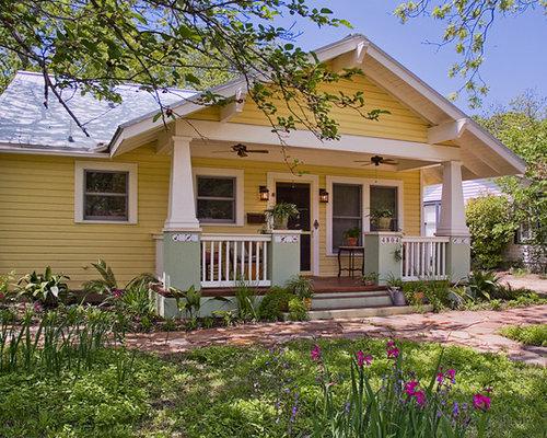 Bungalow front porch home design ideas pictures remodel for California bungalow vs craftsman