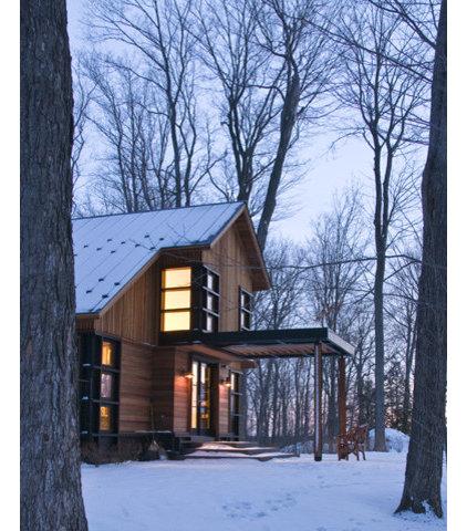 Contemporary Exterior by Birdseye Design