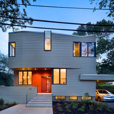 Contemporary Exterior by Marina Rubina, Architect