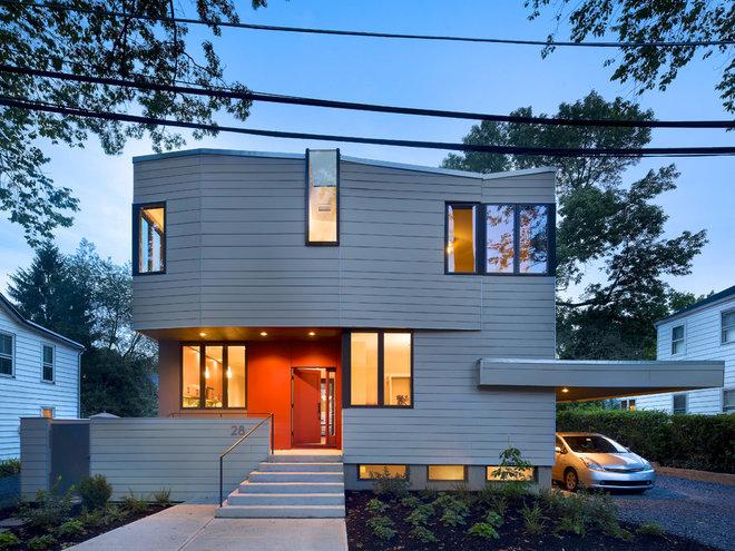 Contemporary Exterior by Marina Rubina, Architect