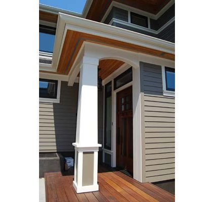 Traditional Exterior by ecco design inc. architects