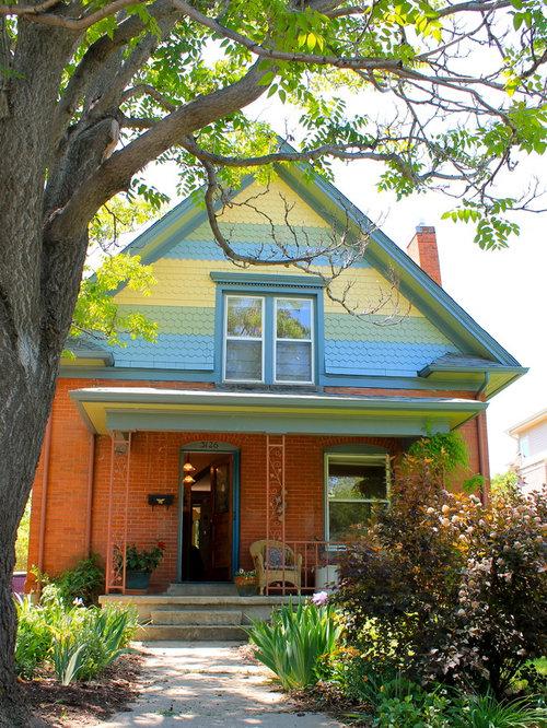 Victorian Denver Exterior Design Ideas Remodels Photos