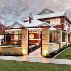 Traditional Exterior by Cambuild