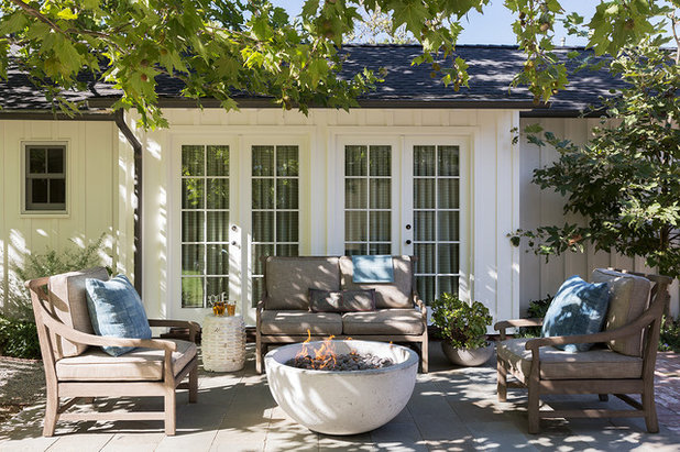 Traditional Exterior by Mark J Williams Design
