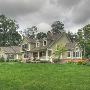 Traditional exterior home idea in Columbus