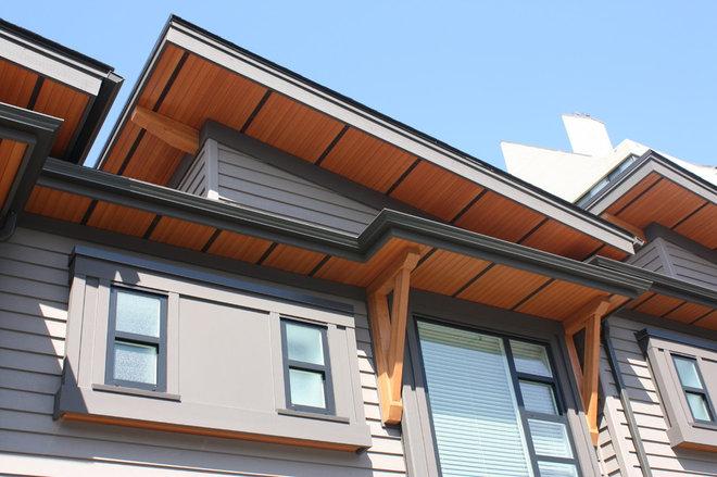 Architectural Soffit Fascia : Wood soffit fascia