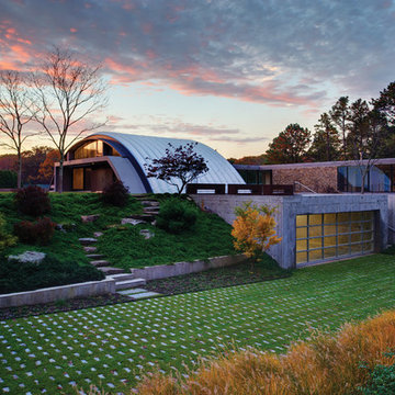 Quonset Hut Home in the Hamptons (Arc House)