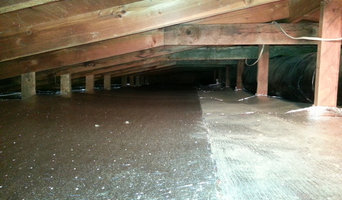 Radiant barrier called Sol-Blanket Insulation in the attic