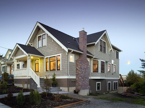 Traditional Exterior by SHKS Architects