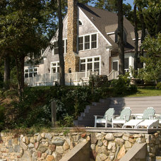Traditional Exterior by Foley Fiore Architecture