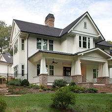 Traditional Exterior by Kathryn Long, ASID