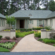 Contemporary Exterior by Ramsey Landscape Associates, Inc.