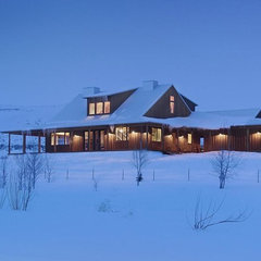 traditional exterior by Koch Architects, Inc.  Joanne Koch