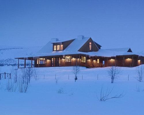 Traditional Rustic Exterior Home Design Ideas Remodels