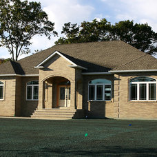 Traditional Exterior by Beacon Home Designs