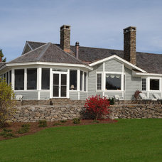 Traditional Exterior by Old Hampshire Designs Inc
