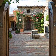 Mediterranean Exterior by Danielian Associates Architecture + Planning