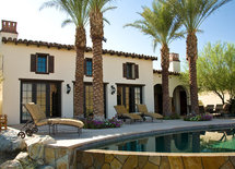 Love this home! Such class.  What roof color and tile did you go with?