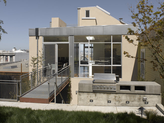 Modern Exterior by Ken Gutmaker Architectural Photography