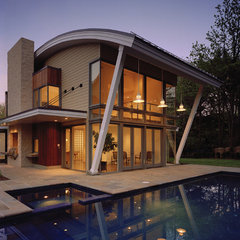 modern exterior by Randall Mars Architects