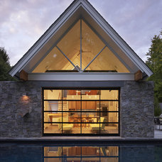 Contemporary Exterior by Randall Mars Architects