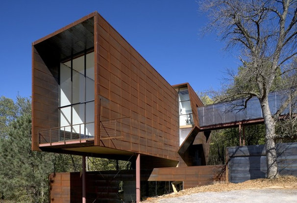 Contemporary Exterior by Randy Brown