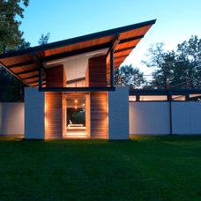 Modern Exterior by McInturff Architects