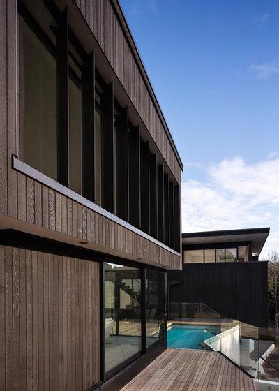 Modern Exterior by Daniel Marshall Architect