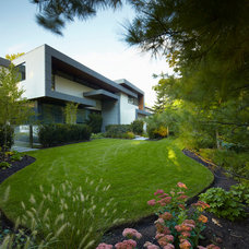 Contemporary Exterior by MHLA Inc