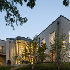 Contemporary Exterior by Arcademia Group Inc.