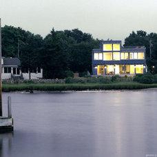 Modern Exterior by r.e.a.l.  ronald evitts architect llc