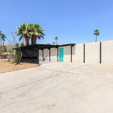 Contemporary Exterior by House & Homes Palm Springs Home Staging