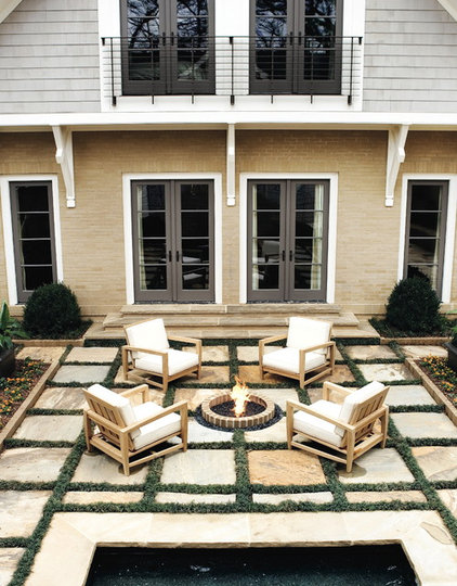 Traditional Exterior by Joel Kelly Design