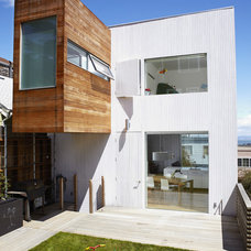 Contemporary Exterior by Blue Truck Studio