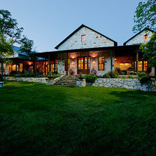 Traditional Exterior by Boyer Custom Homes, Inc.