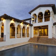 Mediterranean Exterior by Gritton & Associates Architects