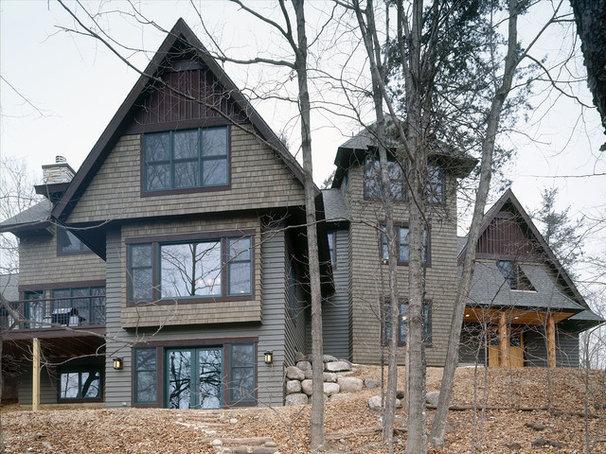 Craftsman Exterior by Erotas Building Corporation