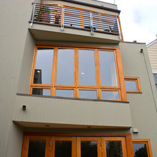 Contemporary Exterior by Shannon Malone