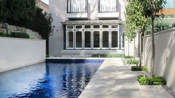 Rear Garden and Pool - Mosman, Sydney