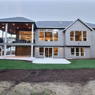Rear of Home - The Genesis - Family Super Ranch with Daylight Basement