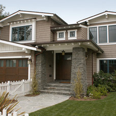 Traditional Exterior by Buriani Construction
