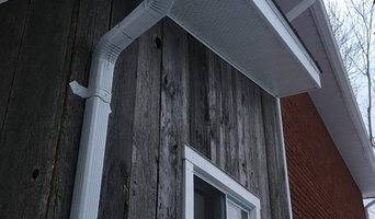 Reclaimed Canadian silver barn board