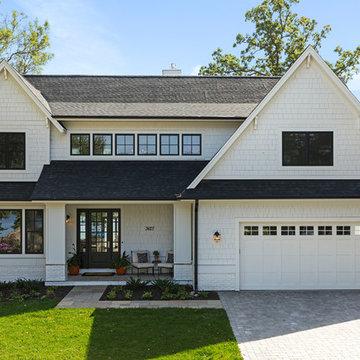 Reclaimed Lakeside Home